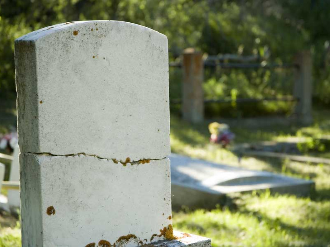 Turn to us for quality headstone restoration